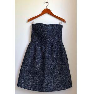 Gap Strapless Tweed Mini Dress